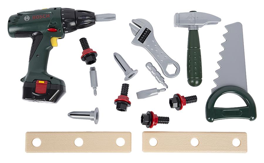 Klein 8429 Игровой набор инструментов с дрелью в ящике BOSCH
