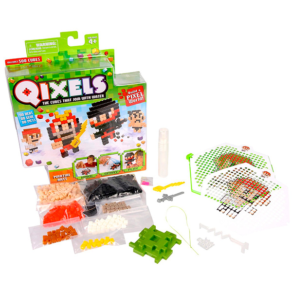 """Qixels Q87005 Квикселс Набор для творчества """"Боевые искусства"""""""