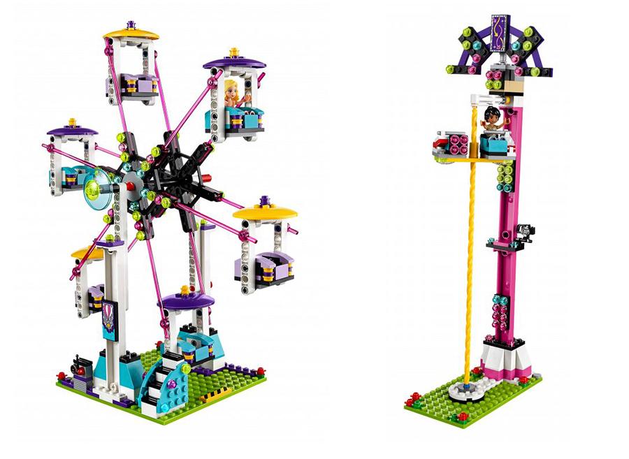 Конструктор Lego Friends 41130 Лего Подружки Парк развлечений: американские горки