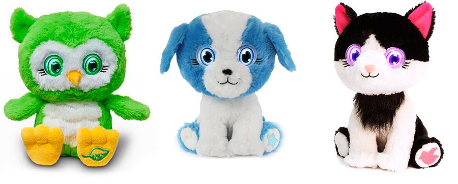 Мягкие игрушки Bright Eyes