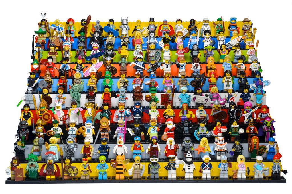 Минифигурки LEGO - тысячи уникальных героев