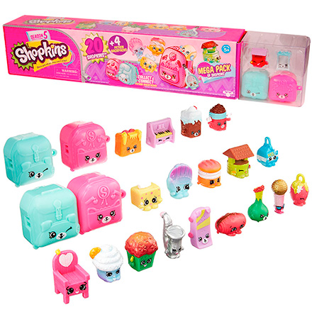 Shopkins 56182 Шопкинс Мега набор фигурок