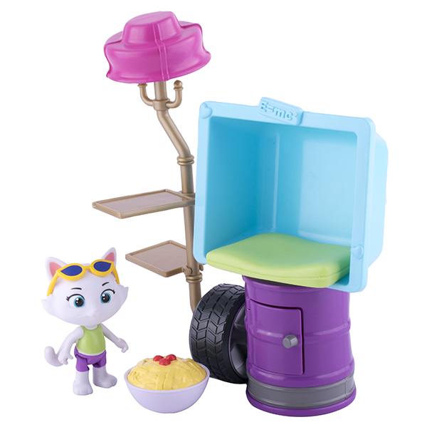 Toy Plus 44 Котёнка 34132 Игровой набор с фигуркой Миледи и аксессуарами