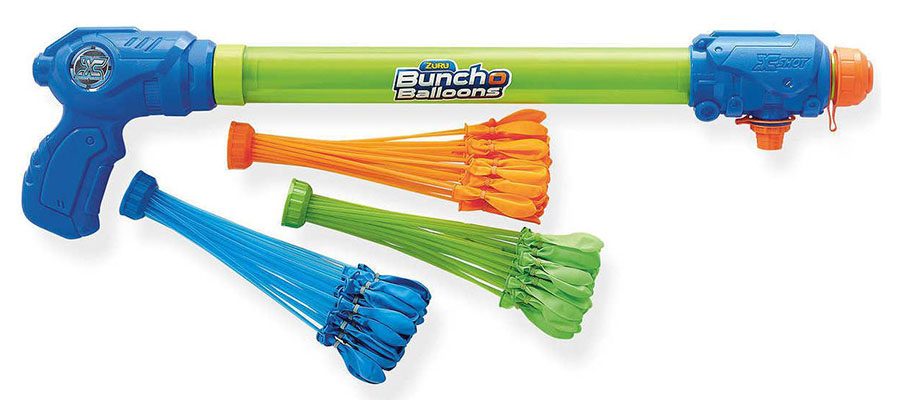 Набор с оружием-насосом Bunch O Balloons