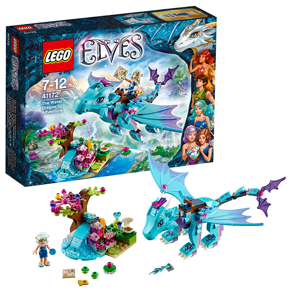 Лего Эльфы Приключение Дракона воды 41172