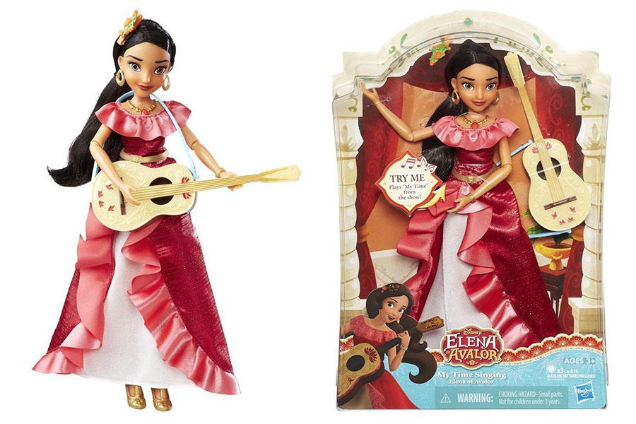 Hasbro Disney Princess B7912 Поющая кукла Елена - принцесса Авалора