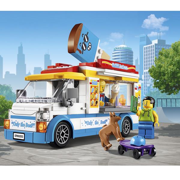 LEGO City 60253 Конструктор ЛЕГО Город Great Vehicles Great Vehicles Грузовик мороженщика