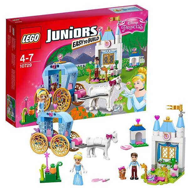 Лего Джуниорс Карета Золушки 10729