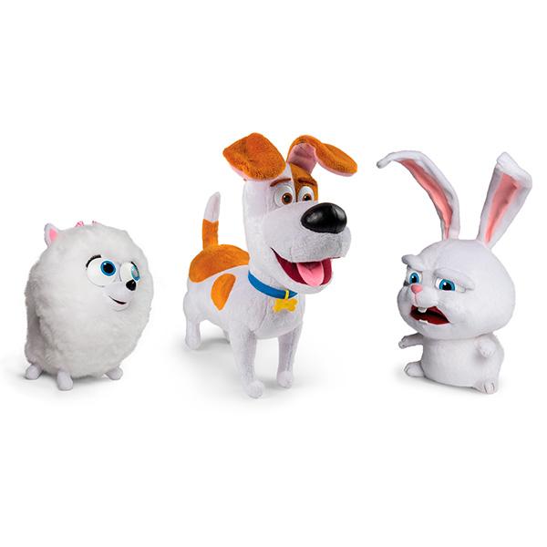 Secret Life of Pets 72809 Тайная жизнь домашних животных Плюш со звуковыми эффектами в ассортименте
