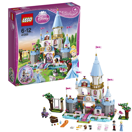 Лего Принцессы Дисней Золушка на балу в Королевском Замке 41055