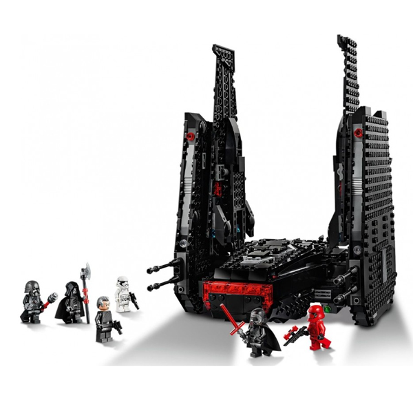 LEGO Star Wars 75256 Конструктор ЛЕГО Звездные войны Шаттл Кайло Рена