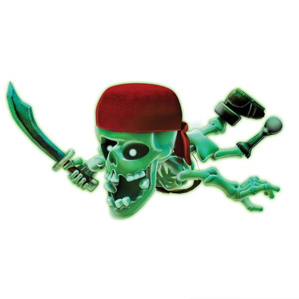 Johnny the Skull 1090-1 Тир проекционный Джонни-Пират с 1 бластером