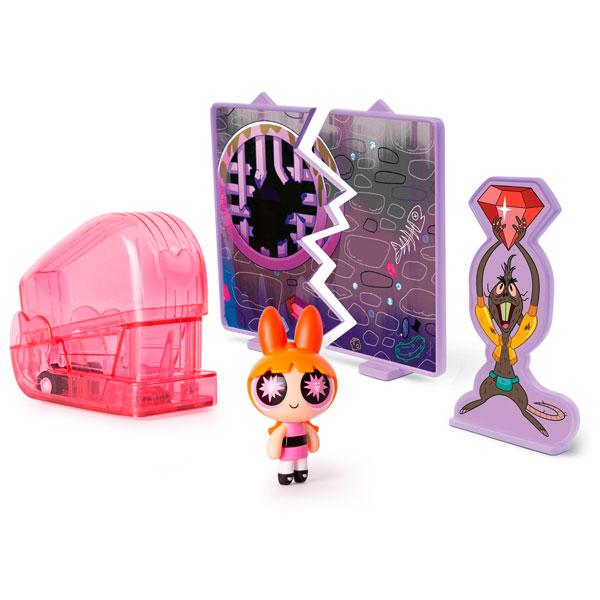 Powerpuff Girls 22316 Игровой набор Суперкрошка в машинке, в ассортименте