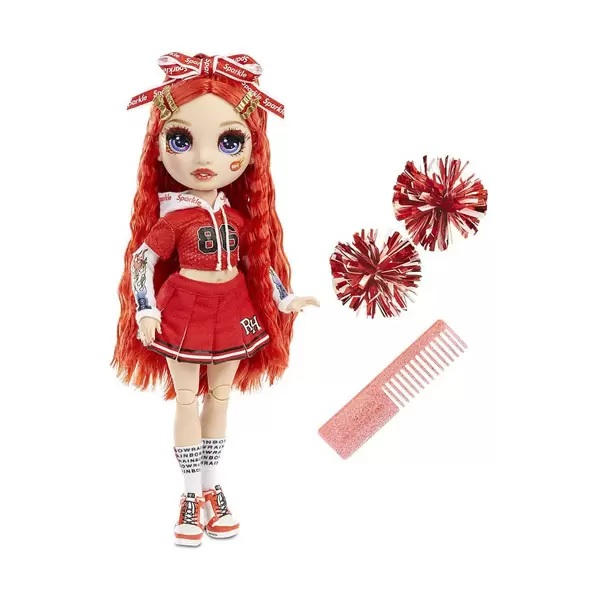 Rainbow High 572039 Кукла Cheer Doll - Ruby Anderson (Red)
