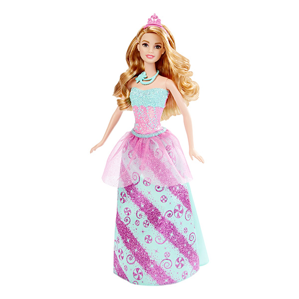 Barbie DHM54 Барби Кукла-принцесса королевства конфет