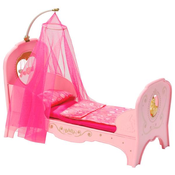 Игрушка Zapf Creation Baby born 819-562 Кровать для принцессы
