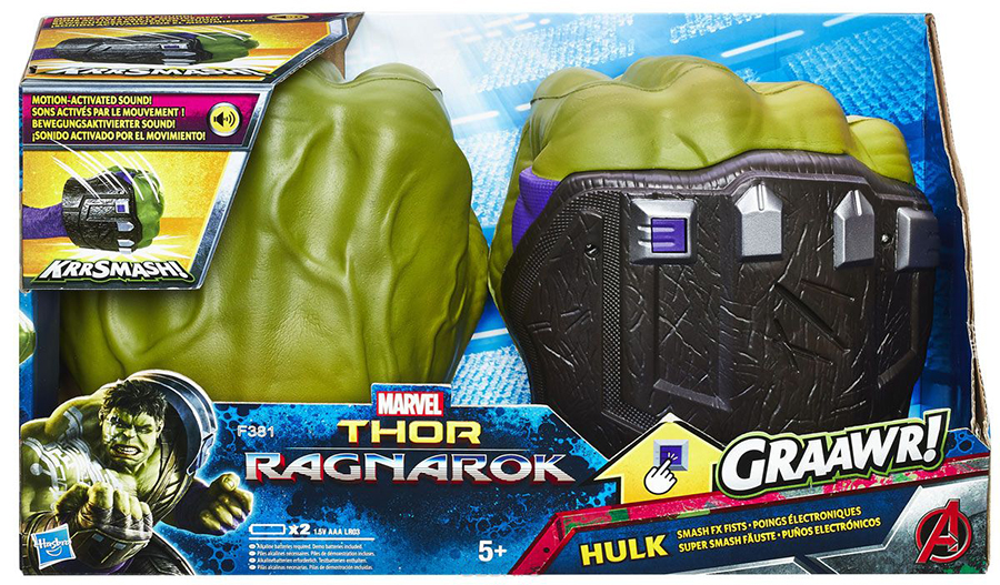 Hasbro Avengers B9974 Интерактивные кулаки Халка