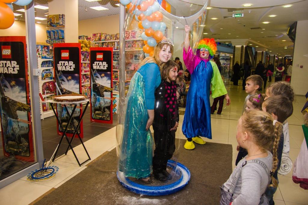 Праздник в честь открытия магазина TOY.RU в Рязани