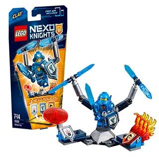 Лего Нексо Клэй – Абсолютная сила 70330