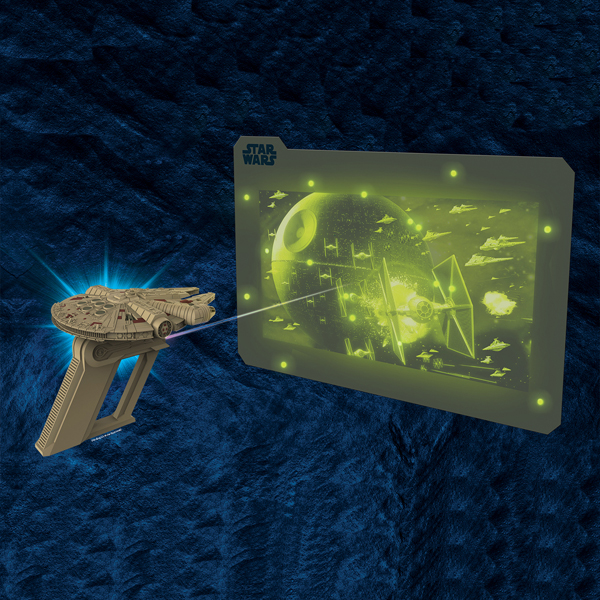 """Star Wars Science 15202 Звездные Войны Световой бластер """"Сокол Тысячелетия"""""""