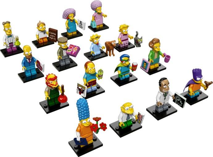 лего минифигурки Симпсоны