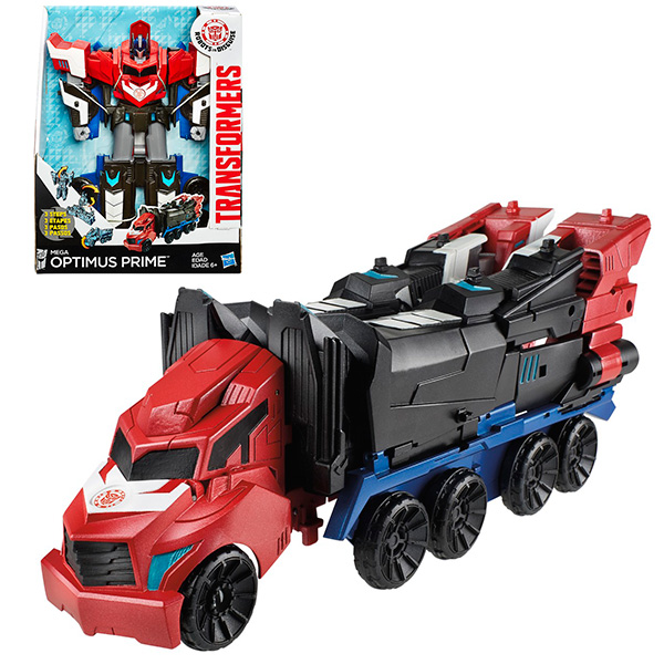 Transformers B1564 Трансформеры Роботс-ин-Дисгайз МЕГА Оптимус Прайм