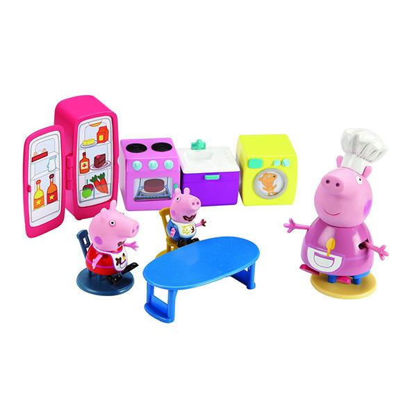 Peppa Pig 15560 Свинка Пеппа Игровой набор Кухня Пеппы