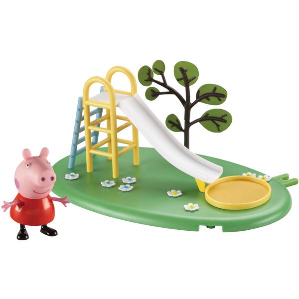 Peppa Pig 28774 Свинка Пеппа Игровой набор Игровая площадка Горка Пеппы