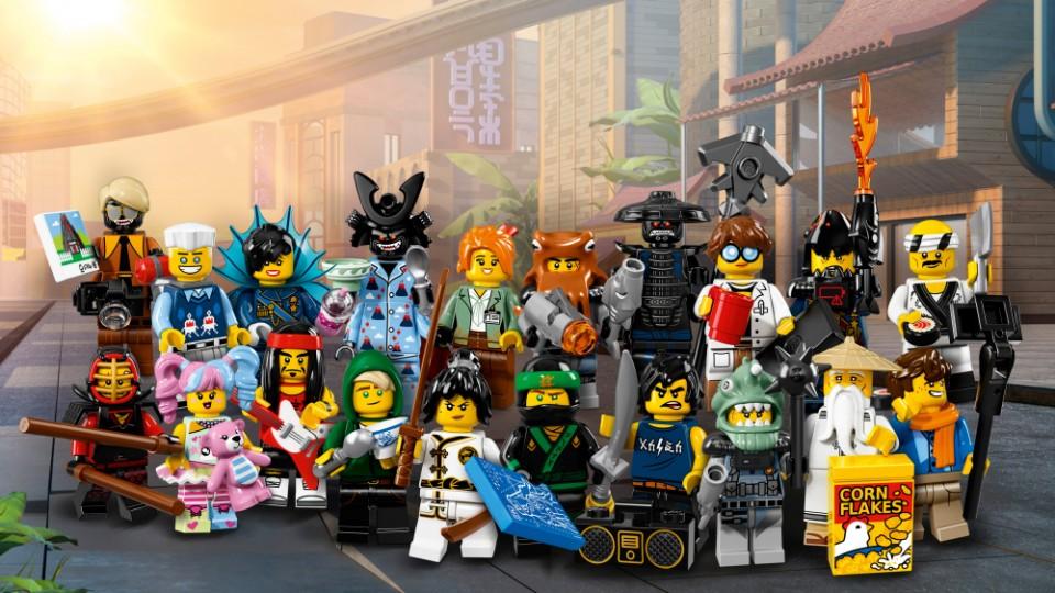 LEGO Minifigures 71019 Лего Минифигурки LEGO® 2017 версия 3