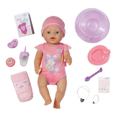 Интерактивная кукла Zapf Creation Baby born 820-414 Бэби Борн Кукла 43 см, кор.