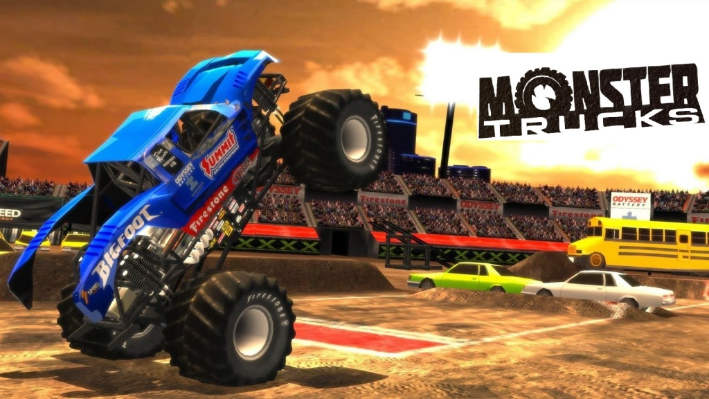 игрушки Monster Trucks