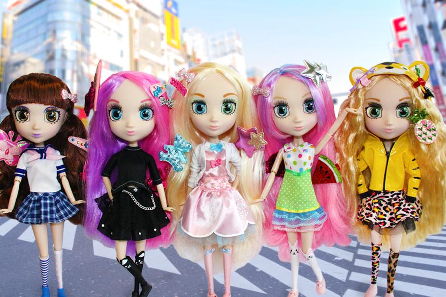 Куклы-модницы Shibajuku Girls