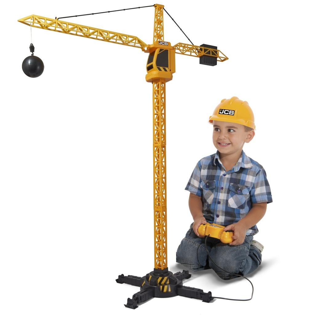 JCB 1416417 Строительный кран 100 см на Д/У с аксессуарами