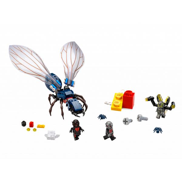 Общий вид набора набора Lego Marvel 76039 Лего Марвел Человек Муравей