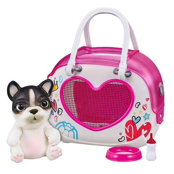 Little Live Pets 28942 Cквиши-щенок OMG Pets! в переноске