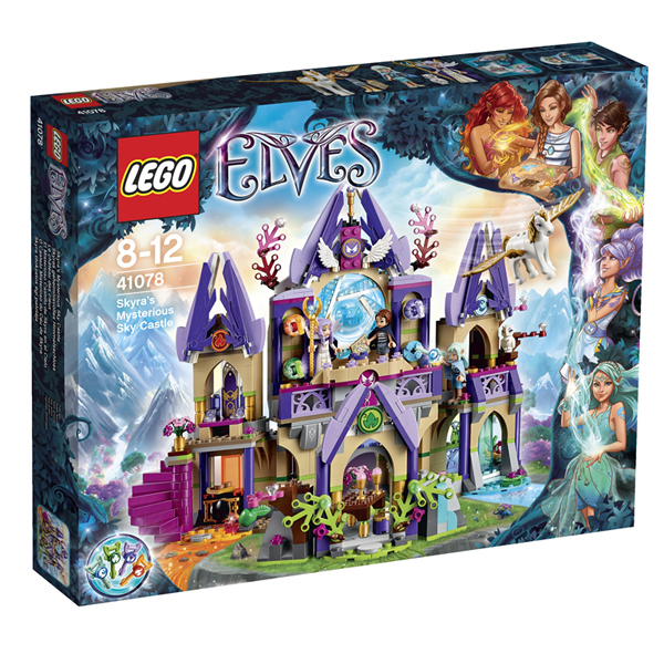 Lego Elves 41078 Лего Эльфы Воздушный замок Скайры коробка