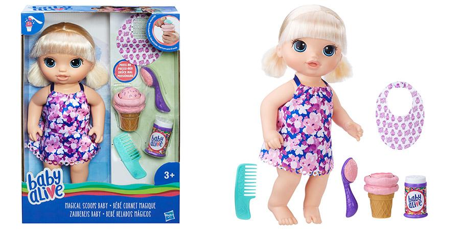 Hasbro Baby Alive C1090 Малышка с мороженым