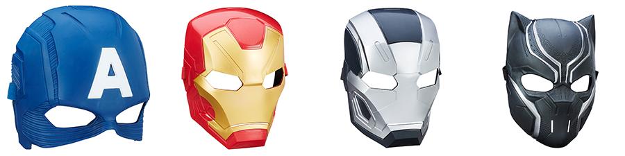 Avengers B6654 Маски героев в ассортименте