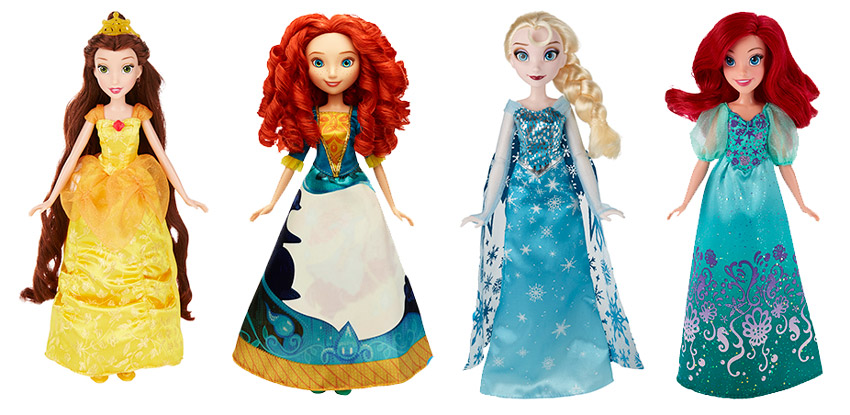 Куклы Принцессы Дисней от Hasbro