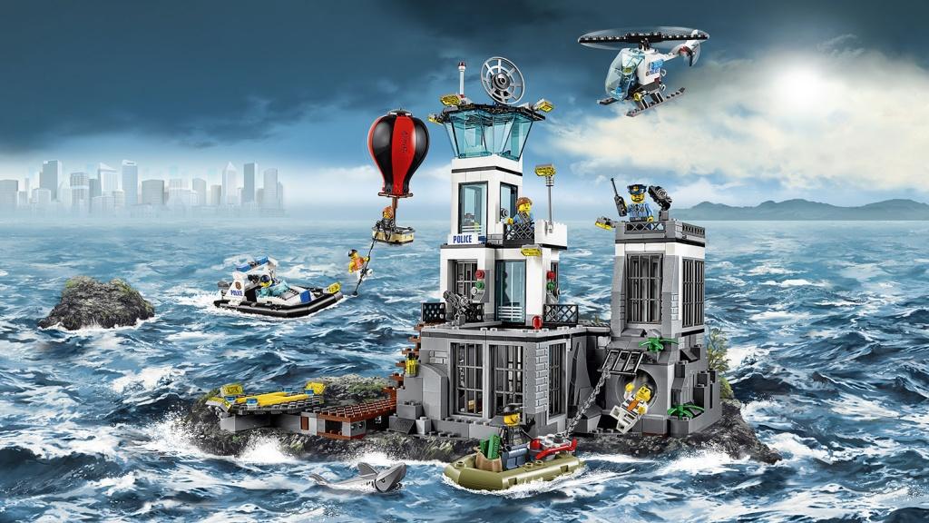 Lego City 60130 Остров-тюрьма