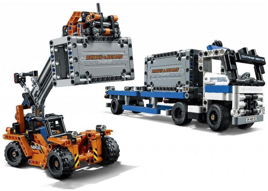 LEGO Technic 42062 Лего Техник Контейнерный терминал