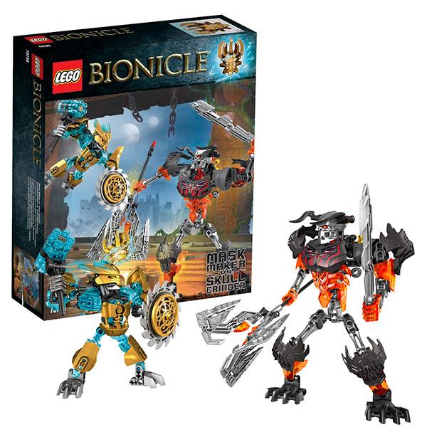 Lego Bionicle 70795 Лего Биониклы Создатель Масок против Стального Черепа