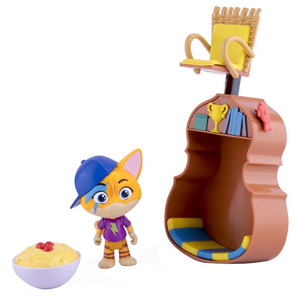 Toy Plus 44 Котёнка 34131 Игровой набор с фигуркой Лампо и аксессуарами