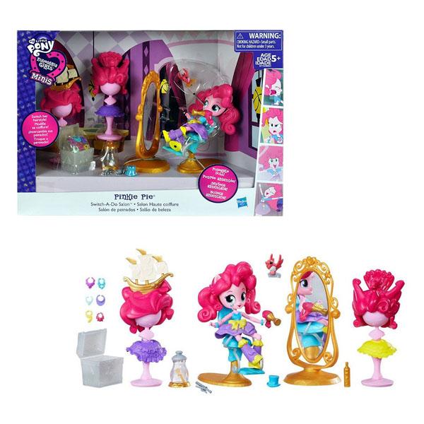 My Little Pony B8824 Equestria Girls Игровой набор мини-кукол Пижамная вечеринка в ассортименте