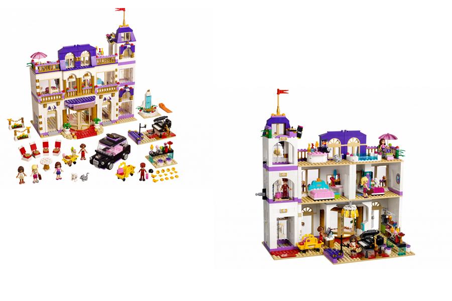 LEGO Friends 41101 Гранд-Отель в Хартлейк-Сити_1