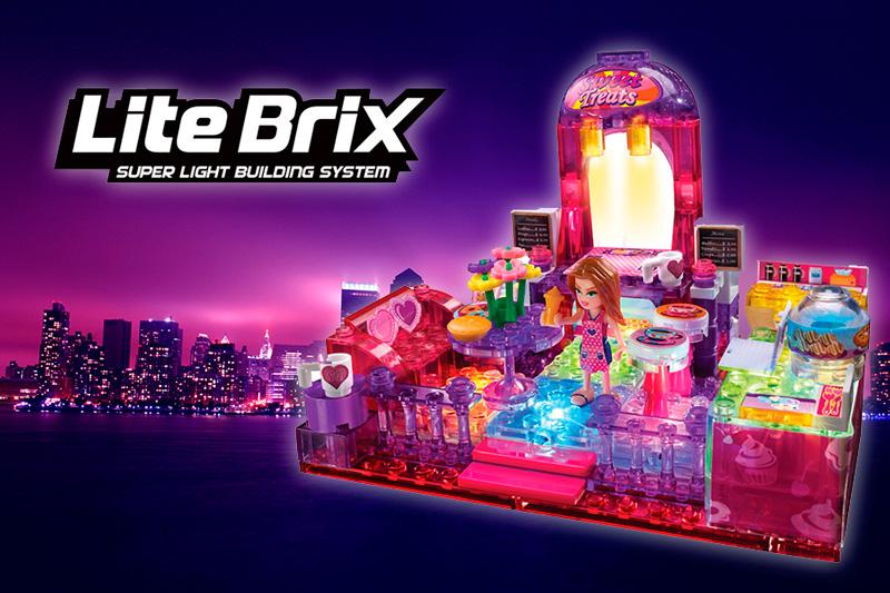 светящиеся конструкторы Lite Brix