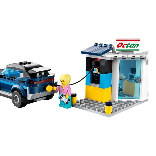 LEGO City 60257 Конструктор ЛЕГО Город Turbo Wheels Станция технического обслуживания