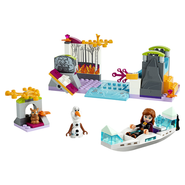 LEGO Disney Princess 41165 Конструктор ЛЕГО Принцессы Дисней Экспедиция Анны на каноэ