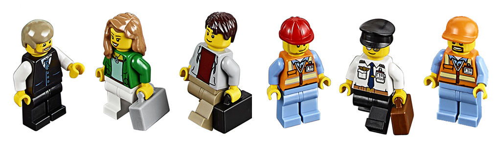 Lego City 60104 Лего Город Пассажирский терминал аэропорта