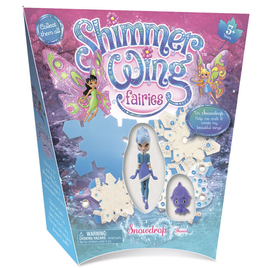 Кукла Фея Снежинка Shimmer Wing упаковка